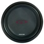 "Alpine SWG1244 12"" SUBWOOFER G-SERIE(245 SWG1244)"