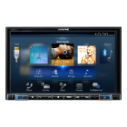 "Alpine X801DU 2DIN 8"" MULTIMEDIA STATION U.DREV(245 X801DU)"