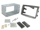 2-DIN monteringskit for Alfa Romeo Mito 2012-, mat titanium.(260 CT23AR11)