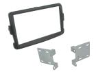 2-DIN monteringskit til divere Dacia, grå.(260 CT23DC08)