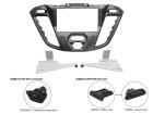 2-DIN monteringskit til Ford Transit Custom 2012-, Nebula Pi(260 CT23FD39)