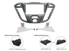 2-DIN monteringskit til Ford Transit Custom 2012-, Pegasus. (260 CT23FD40)