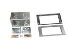 2-DIN sølv kit til divere Ford med firkantet Ford 6000CD OE (260 CT23FD52)