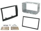 2-DIN monteringskit til diverse kassevogne 2011-2014, sort. (260 CT23FT16)
