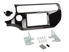2-DIN kit til Kia Rio facelift 2015> i pianosort udførsel.(260 CT23KI53)