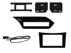 2-DIN kit til Mercedes E-klasse W212 2009-2012; sort.(260 CT23MB26L)