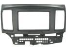 2-DIN monteringskit til Mitsubishi Lancer 2008-, sort.(260 CT23MT05)