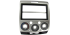 2-DIN monteringskit til Mazda BT-50 2007-2012, sølv.(260 CT23MZ09)
