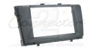 2-DIN monteringskit til Toyota Avensis T270 2009-, sort.(260 CT23TY12)