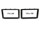 2-DIN kit til Toyota Hi-Lux 2015-.(260 CT23TY59)