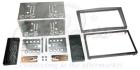 2-DIN monteringskit til diverse Opel modeller,Chrome silver.(260 CT23VX02A)