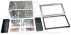 2-DIN monteringskit til diverse Opel modeller,sølv. (260 CT23VX03A)