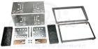 2-DIN monteringskit til diverse Opel modeller, Charcoal.   (260 CT23VX14A)