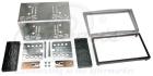 2-DIN monteringskit til diverse Opel modeller, Chrome metall(260 CT23VX15A)