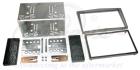 2-DIN monteringskit til diverse Opel modeller, Charcoal meta(260 CT23VX16A)