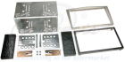 2-DIN monteringskit til diverse Opel modeller, Satin stone. (260 CT23VX17)