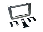 2-DIN kit til Alfa Mito 2008--2012 glossy Titanium.(260 CT24AR17)