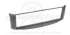 1-DIN ramme til Smart ForTwo 1998-2007, grå.(260 CT24MM03)