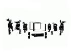 2-DIN monteringssæt til Nissan NV200 2013-. Sort(260 CT24NS30)