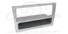 1-DIN ramme til Opel Signum, Opel Vectra, chrome metallic(260 CT24VX08)