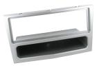 1-DIN ramme til Opel Zafira 2005-2014, sølv.(260 CT24VX11)