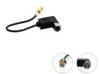 Adapter fra F konnektor til SMA hun.(260 CT27AA115)