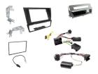 2-DIN kit, Sort ramme og sølv, BMW 3 serie 2006-2014 (260 CTKBM12)