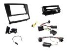 2-DIN kit Sort ramme og pianosort,  BMW 3 serie 2006-2014 (260 CTKBM13)