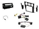 2-DIN kit Sort ramme og pianosort BMW 3 serie 2006>2014(260 CTKBM16)