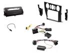 2-DIN kit Medfølger sort ramme og matsort BMW 3 serie 2006-2(260 CTKBM17)