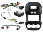 2-DIN kit Sort ramme, Ford Ranger 2012>(260 CTKFD40)