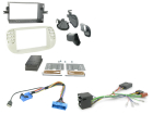2-DIN kit Beige ramme, Fiat 500 2008>2015(260 CTKFT05)