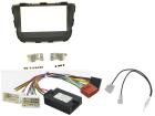 Komplet 2-DIN kit til Kia Sorento 2013- med standard lydsyst(260 CTKKI20)