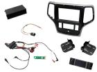 2-DIN pro kit til Jeep Grand Cherokee 2014- i brun udførsel (260 CTKPJP02)