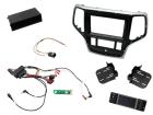2-DIN pro kit til Jeep Grand Cherokee 2014- i sølv/sort udfø(260 CTKPJP03)