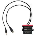 AMPIRE BLUETOOTH MODTAGER AUX/USB(25 BTR300)