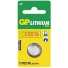 Batteri GP CR 2016 1 stk.(190-2182)