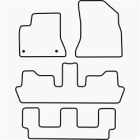 Skræddersyet Måttesæt til Citroën C4 Picasso 7 personers fra(822 CIT1013)
