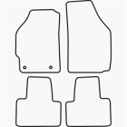 Skræddersyet Måttesæt til Fiat Punto fra 2003-2009(822 FIA1006)