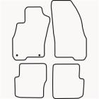 Skræddersyet Måttesæt til Fiat Punto Evo 5 dørs fra 2009 og(822 FIA1008)