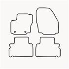 Skræddersyet Måttesæt til Ford Galaxy II 5 personers fra 200(822 FOR1015)