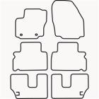 Skræddersyet Måttesæt til Ford Galaxy II 7 personers fra 200(822 FOR1016)