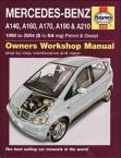 Værkstedshåndbog Mercedes A-Klasse W168(90400 4748)