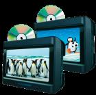 "Nextbase 9"" Skærmsæt med 2 DVD afspiller(248 C9LDD)"