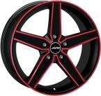 Autec delano Matt Black - Red Polished(278158)