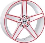 Autec delano White - Red Polished(279676)