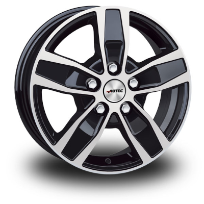 "Autec Quantro Black Polished 17""              Q70760.1185711BP"