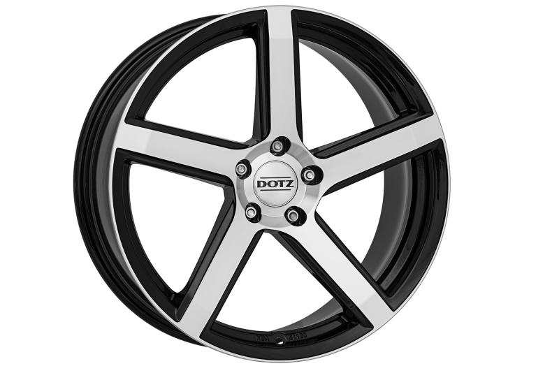 DOTZ CP5 dark Black/polished