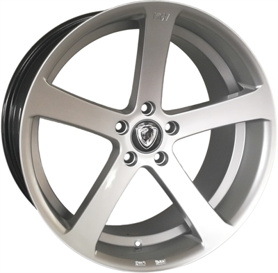 KW Series s13 mega concave Hyper Silver