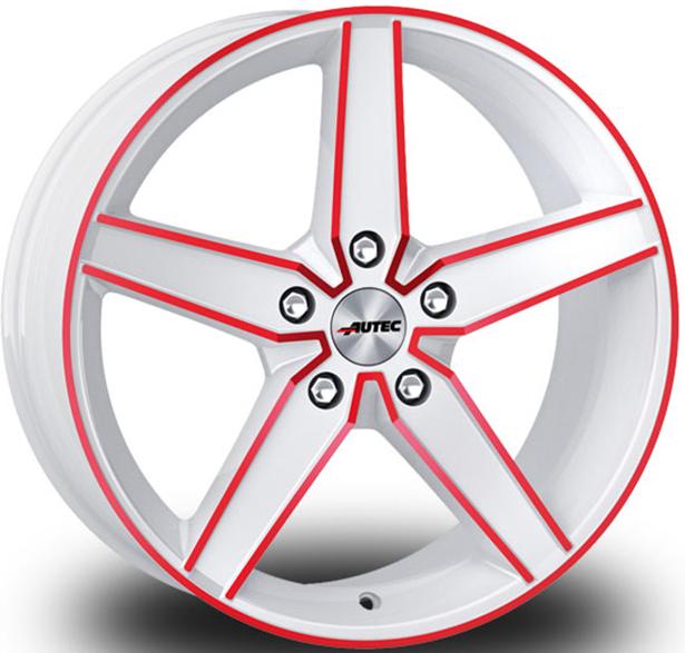 Autec Delano Hvid-Rød Hvid Rød Elox